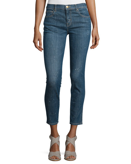 The Great The Almost Skinny Cropped Jeans, Drift