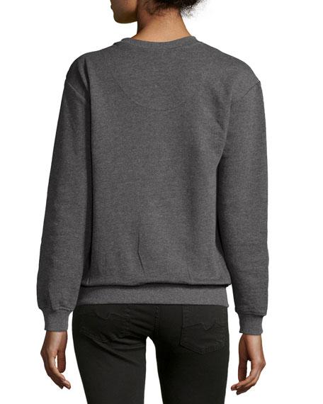 Embellished Sweatshirt, Gray Price