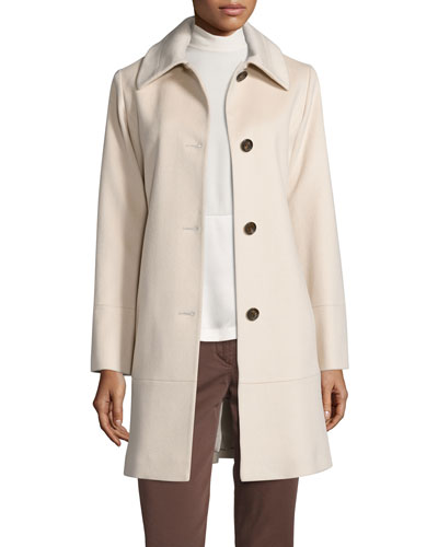 CLASSIC BUTTON PEACOAT