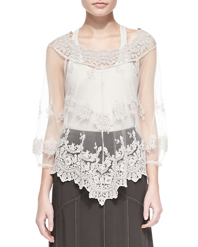 Pierrette Biltmore Lace Top
