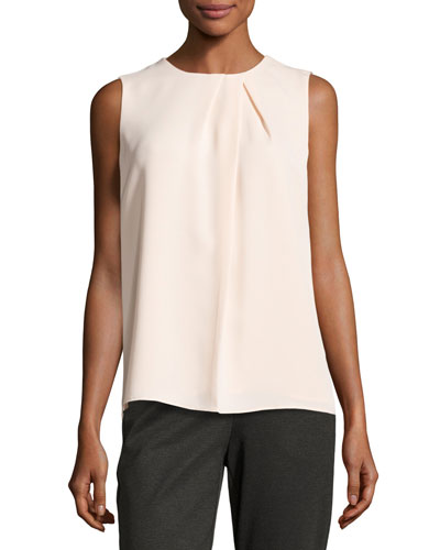 Sleeveless Peaked Top