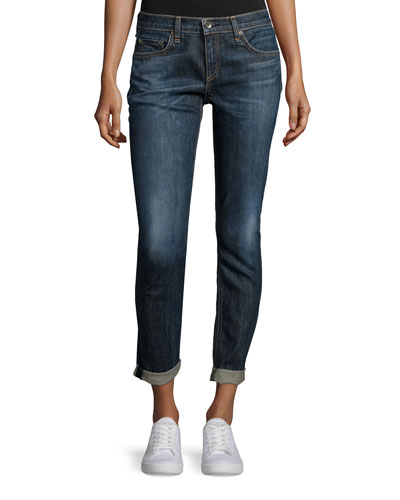 Dre Cropped Boyfriend Jeans, Snoqualmie