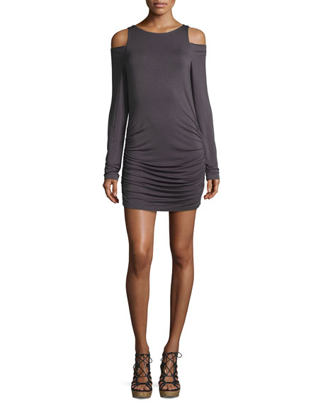 Young Fabulous and Broke Kila Cold-Shoulder Jersey Dress