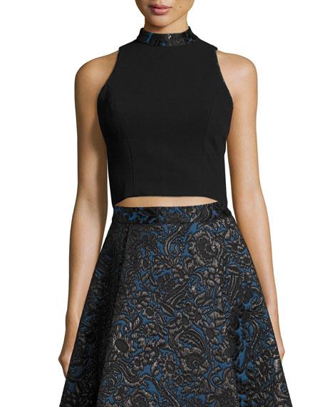 Alice + Olivia Crop top & skirt