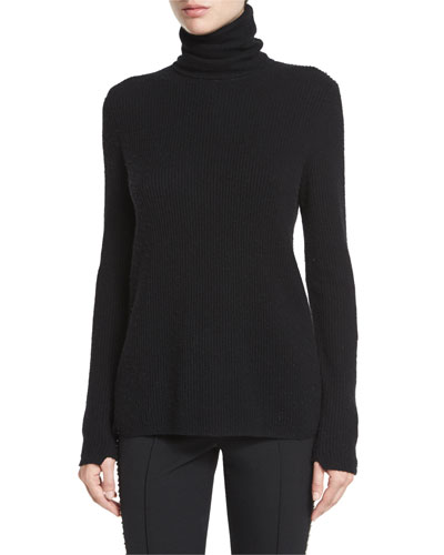 Pippa Ribbed Wool-Blend Sweater Price