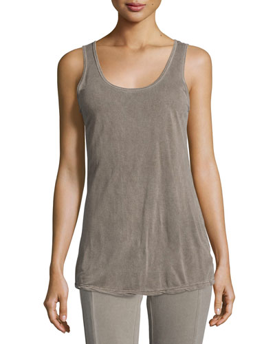 Jersey Tank Top, Sonoma Pigment, Plus Size