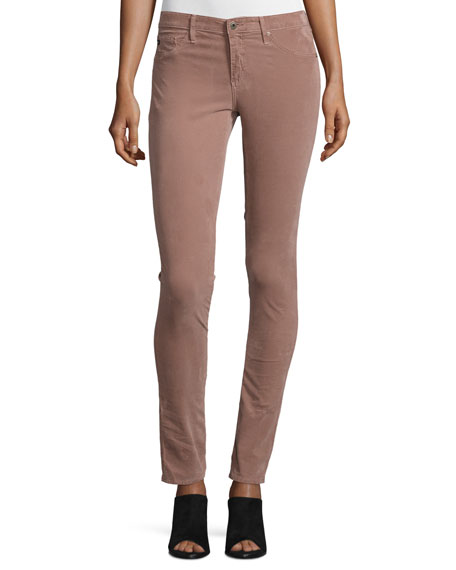AG Legging Jeans, Sulfur Dusty Rosette