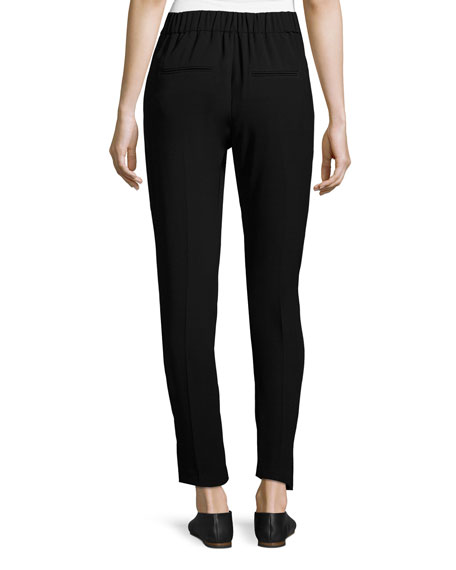 Slim Lounge Pants, Black