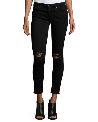 The Legging Ankle 1 Year Black Pond Jeans
