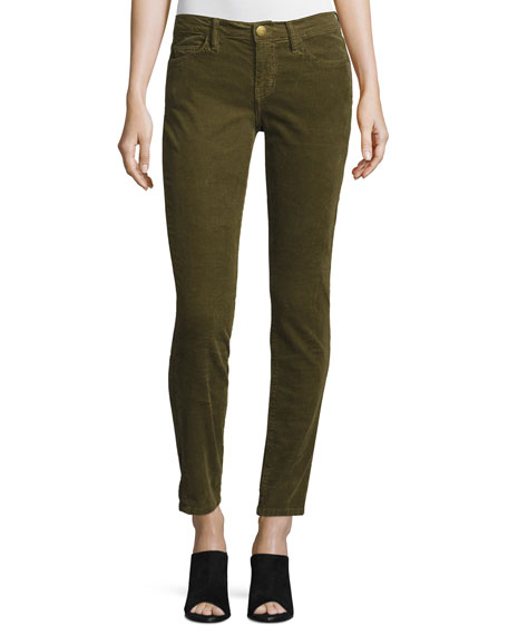 Current/Elliott The Stiletto Corduroy Pants, Caper