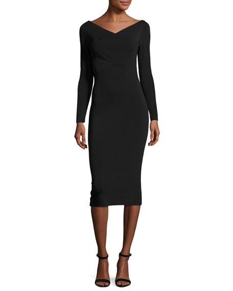 Daverin Lustrate Sheath Dress