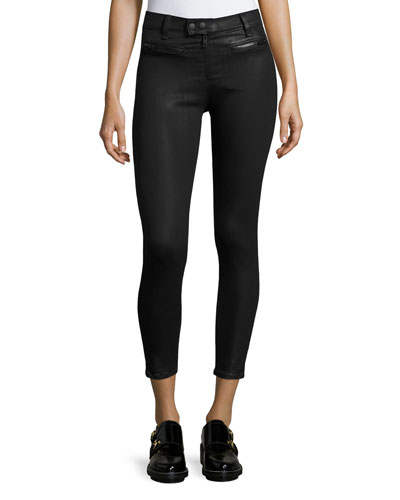 Ryder Moto Coated Jeans, Black