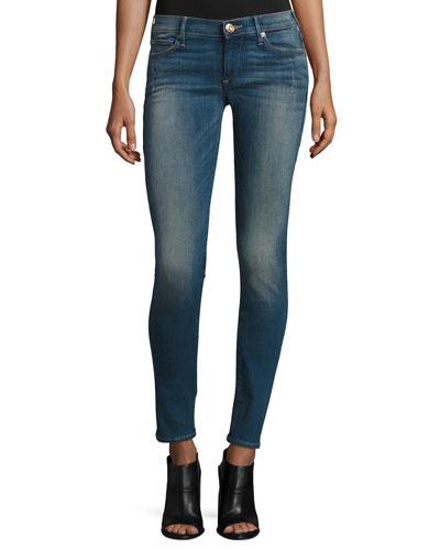 Stella Low-Rise Skinny Jeans, Night