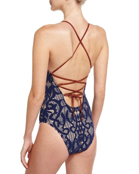 Valley Crochet Goddess One-Piece Swimsuit