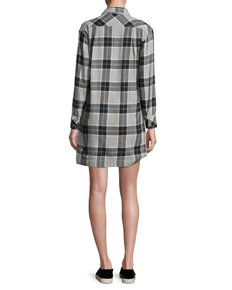 The Lara Shirtdress, Foxworth Plaid