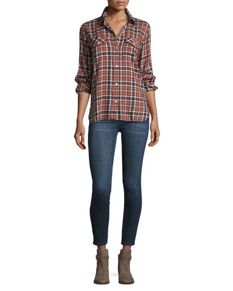 The Stiletto Skinny Ankle Jeans, Nightfade