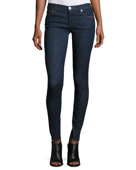 True Religion Casey Low-Rise Super-Skinny Jeans, Enzyme Rinse