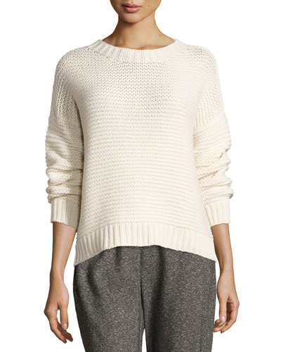 Fisher Project Lofty Recycled Cashmere Top