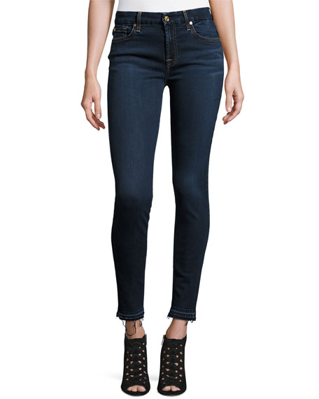 7 for all mankind B(Air) Denim Ankle Skinny