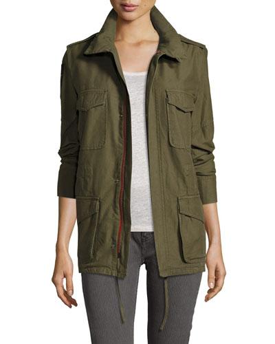 Utility Zip-Front Jacket