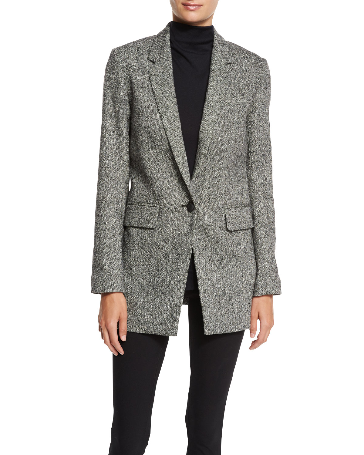 Rag & Bone Wool Herringbone Blazer Cut-Price IqKiXOhW