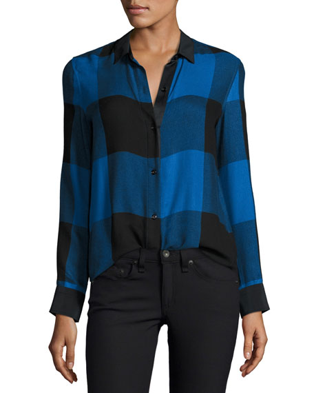 Black Long Sleeves Blouse | Neiman Marcus