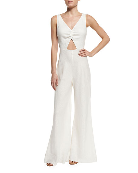 6 Shore Road by Pooja Beachwalker Cutout Jumpsuit