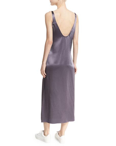 Lyla Charmeuse Slip Dress, Rock
