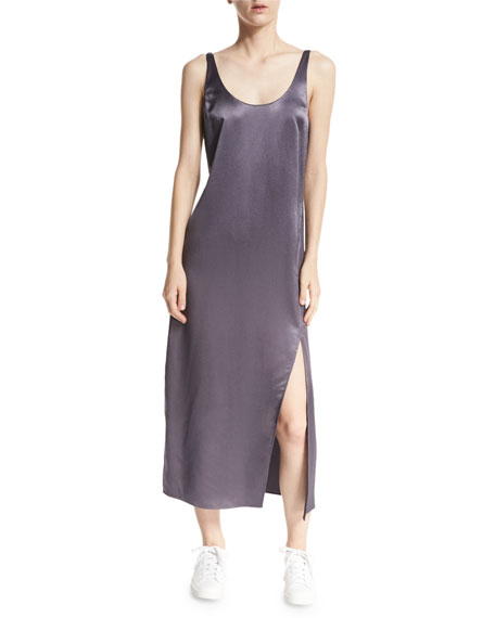 Diane von Furstenberg Lyla Charmeuse Slip Dress, Rock