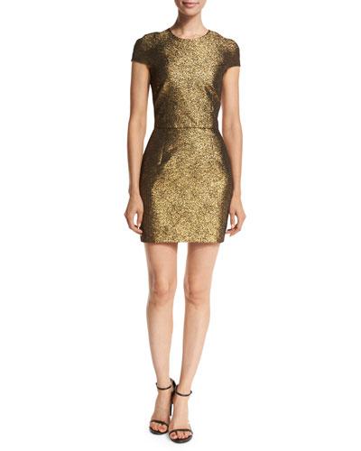 Hadlie Two Metallic Mini Dress