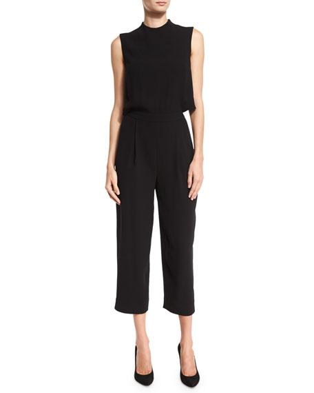 Diane von Furstenberg Tali Popover Sleeveless Jumpsuit