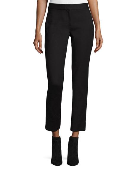 Diane von Furstenberg Jodie Cropped Pants, Black