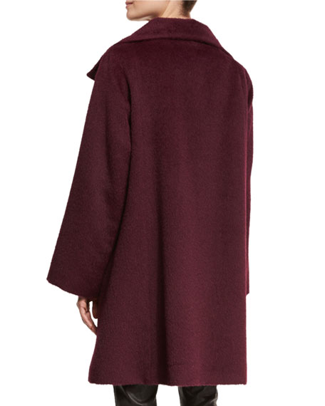 Fisher Project Oversized Alpaca-Blend Coat, Raisonette