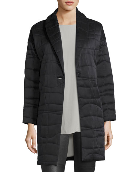 Eileen Fisher Fisher Project Quilted Jacket