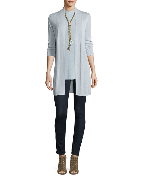 Long Open-Front Cardigan Sale
