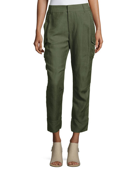 Derek Lam 10 Crosby Easy Cargo Pants with