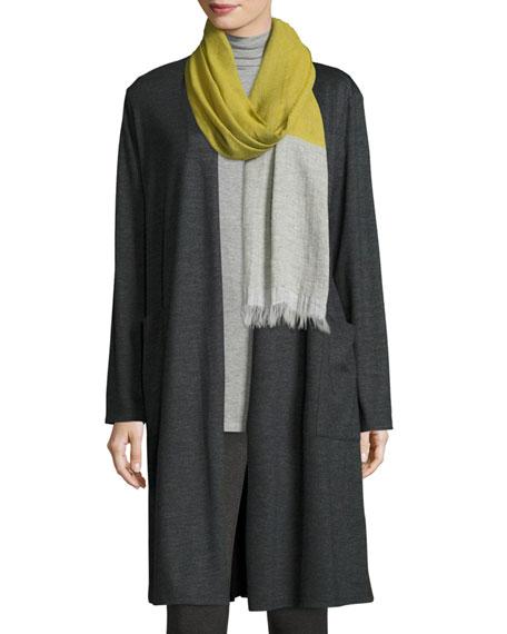 Eileen Fisher Kimono Cardigan & Scarf, Petite