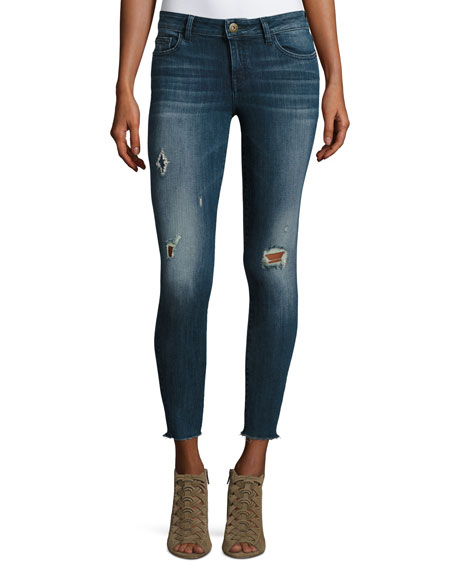 DL1961 Premium Denim Margaux Skinny Ankle Jeans, Stingray