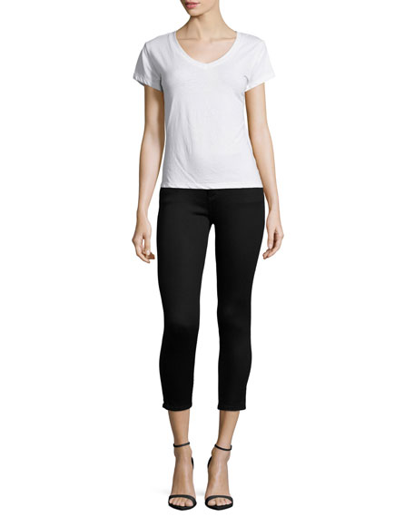 Florence Skinny Cropped Jeans, Hail