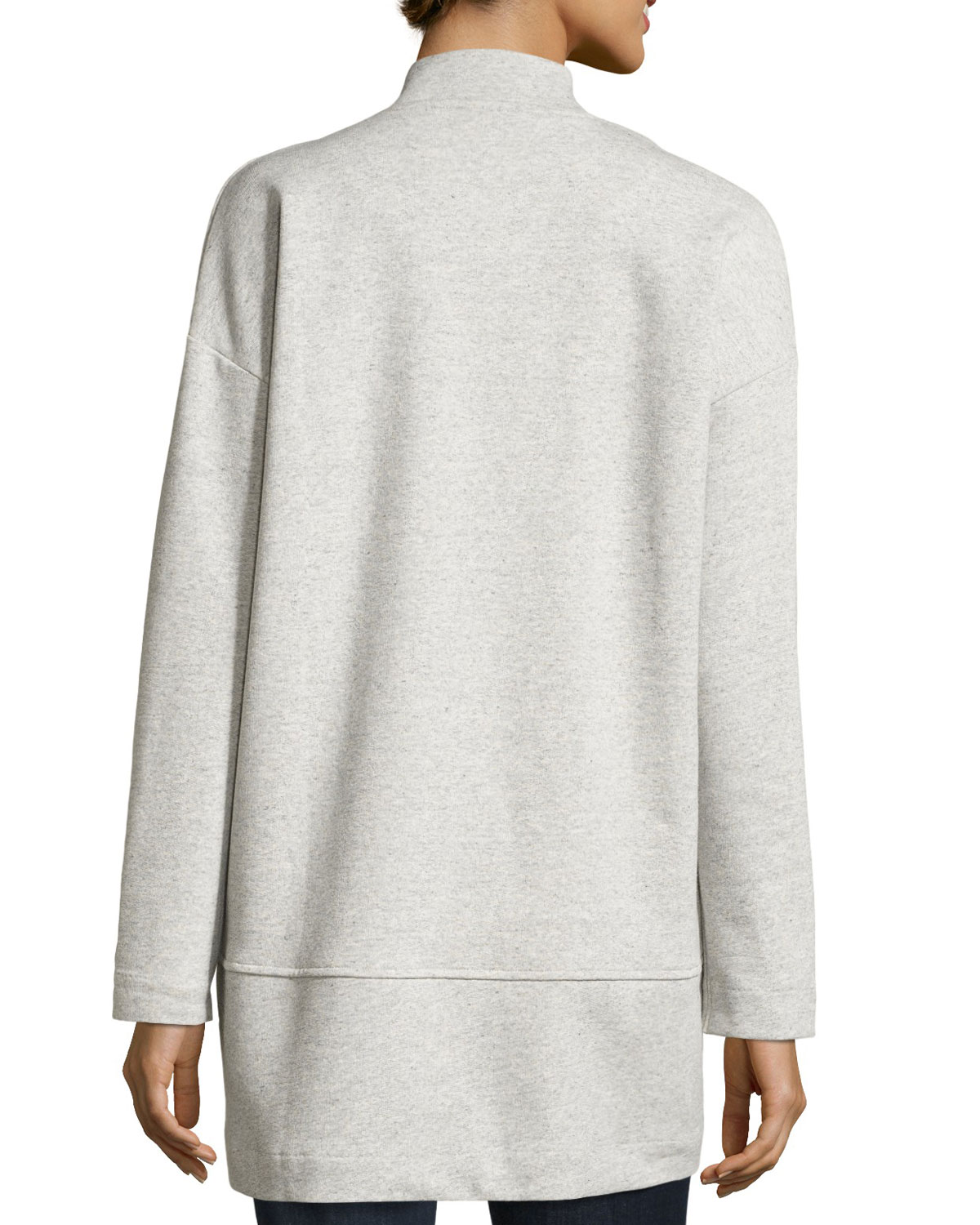 910bbe9fe Eileen Fisher Fisher Project Terry Bomber Jacket | Neiman Marcus