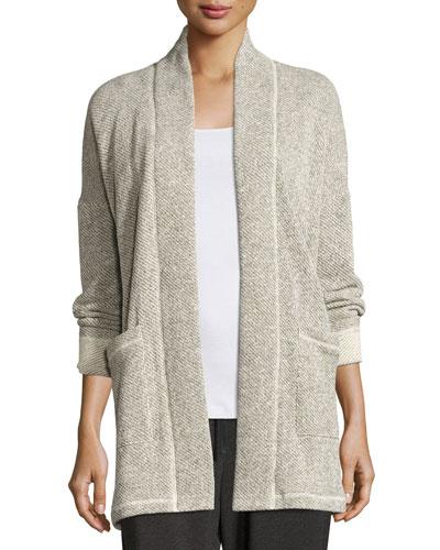Twisted Terry Kimono Jacket