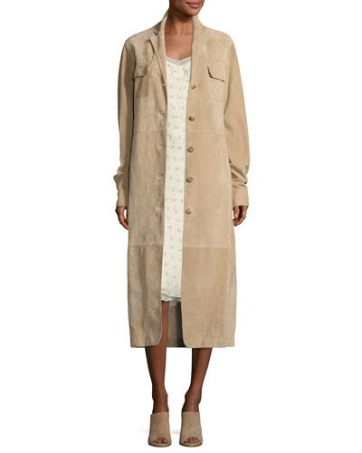 THE ROW Silks SANTI FLORAL-PRINT SILK SLIP DRESS