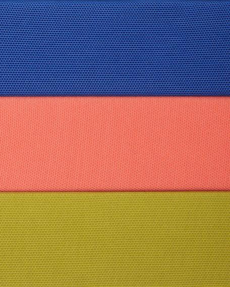 3/4-Sleeve Illusion Sheer Cardigan