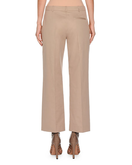 Boy Straight-Leg Cropped Pants