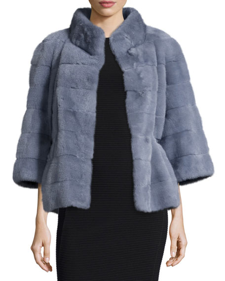 Fur & Faux Fur Coats : Bomber Jackets at Neiman Marcus
