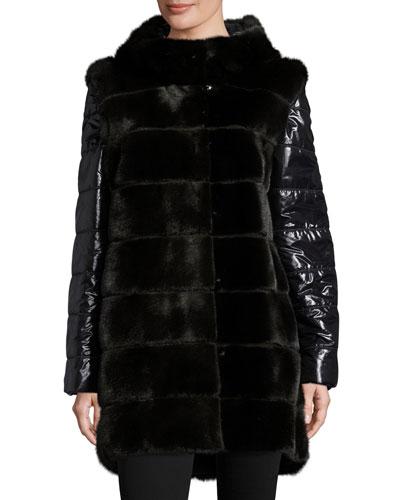 Fur &amp Faux Fur Coats : Bomber Jackets at Neiman Marcus
