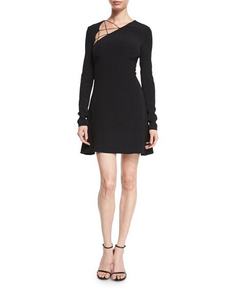 asymmetric fitted dress - Black Cushnie et Ochs PTP5Lw2Ed