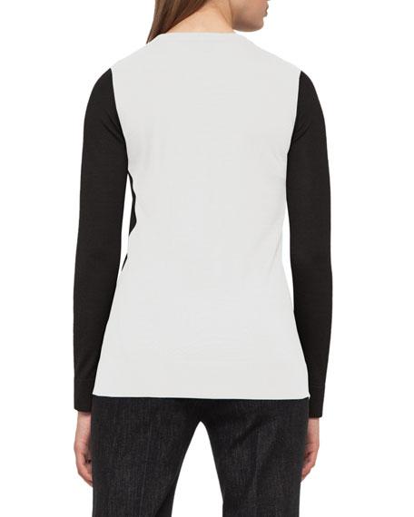 Iago Leather-Panel Riding Jacket, Black Best Reviews