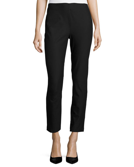 Kobi Halperin Marcia Slim-Fit Ankle Pants, Black