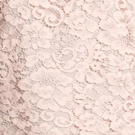 Scoop-Neck Lace Shell, Light Pink, Petite